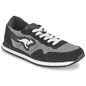 鞋子 女士 球鞋基本款 Kangaroos INVADER TWEED 灰色 / 黑色