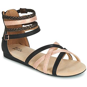 鞋子 女孩 凉鞋 Bullboxer AED009 黑色