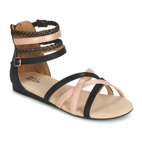 鞋子 女孩 涼鞋 Bullboxer AED009 黑色