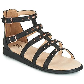 鞋子 女孩 涼鞋 Bullboxer AGG021 黑色