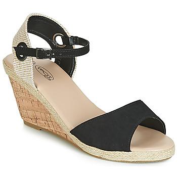 鞋子 女士 凉鞋 Spot on F2265 黑色