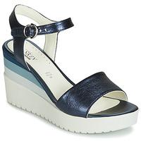 鞋子 女士 凉鞋 Stonefly 斯通富莱 ELY 7 LAMINATED LTH 蓝色