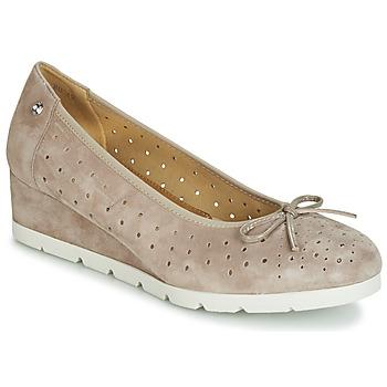 鞋子 女士 平底鞋 Stonefly 斯通富莱 MILLY 2 GOAT SUEDE 米色