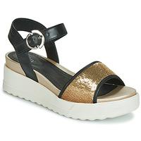 鞋子 女士 凉鞋 Stonefly 斯通富莱 PARKY 3 NAPPA/PAILETTES 黑色