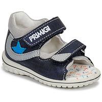鞋子 男孩 凉鞋 Primigi 3377611 蓝色