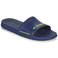 鞋子 拖鞋 Havaianas 哈瓦那 SLIDE BRASIL 蓝色