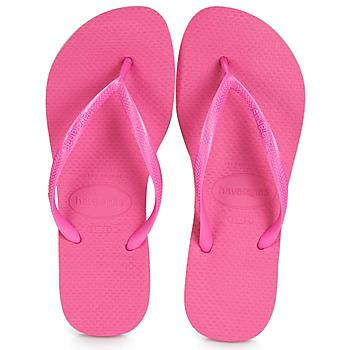 鞋子 女士 人字拖 Havaianas 哈瓦那 SLIM 玫瑰色
