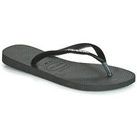 鞋子 女士 人字拖 Havaianas 哈瓦那 SLIM VELVET 黑色