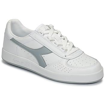 鞋子 球鞋基本款 Diadora 迪亚多纳 B ELITE 白色 / 灰色