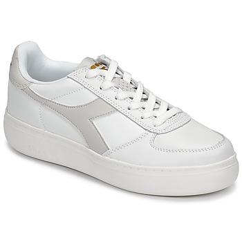 鞋子 女士 球鞋基本款 Diadora 迪亚多纳 B ELITE WIDE 白色 / 灰褐色