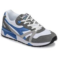 鞋子 男士 球鞋基本款 Diadora 迪亚多纳 N 9000 III 白色 / 灰色 / 松石绿