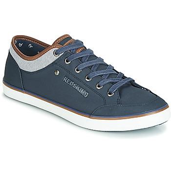 鞋子 男士 球鞋基本款 Redskins GALETI 海藍色 / 棕色