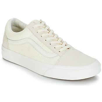 鞋子 女士 球鞋基本款 Vans 范斯 OLD SKOOL 米色