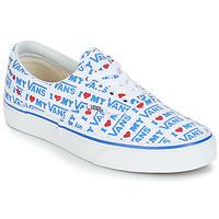 鞋子 女士 球鞋基本款 Vans 范斯 ERA 白色 / 蓝色