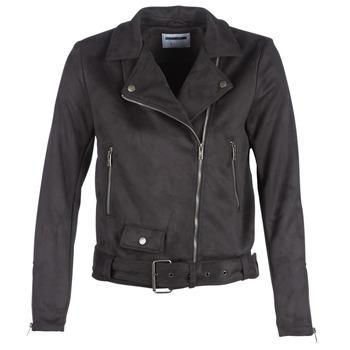 衣服 女士 皮夹克/ 人造皮革夹克 Noisy May NMCHRIZZY 黑色