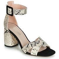 鞋子 女士 凉鞋 Fericelli JEZI 白色 / 黑色