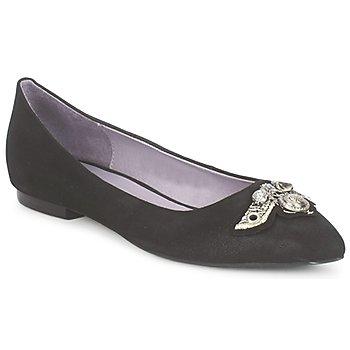 鞋子 女士 平底鞋 Couleur Pourpre TIMEA 黑色