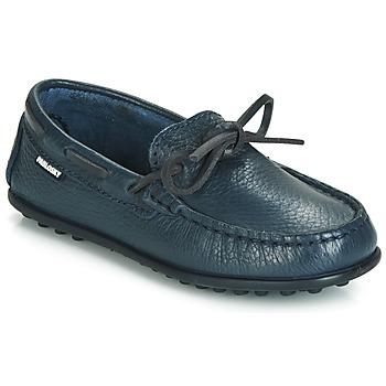 鞋子 男孩 皮便鞋 Pablosky 125125 蓝色
