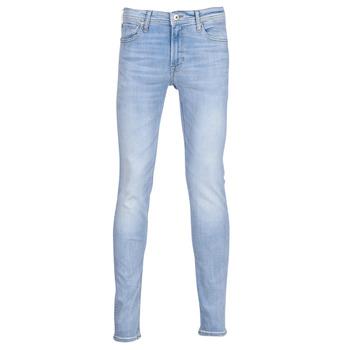 衣服 男士 紧身牛仔裤 Jack & Jones 杰克琼斯 JJILIAM 蓝色