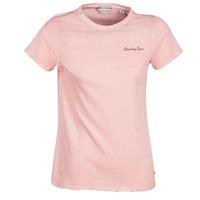 衣服 女士 短袖体恤 Maison Scotch SS T-SHIRT 玫瑰色
