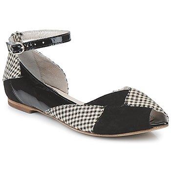 鞋子 女士 平底鞋 Mosquitos DELICE 黑色