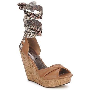 鞋子 女士 涼鞋 Ravel JEMMA 駝色