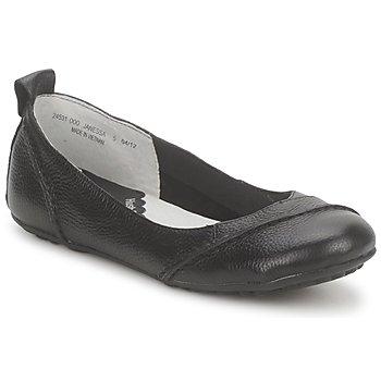 鞋子 女士 平底鞋 Hush puppies 暇步士 JANESSA 黑色