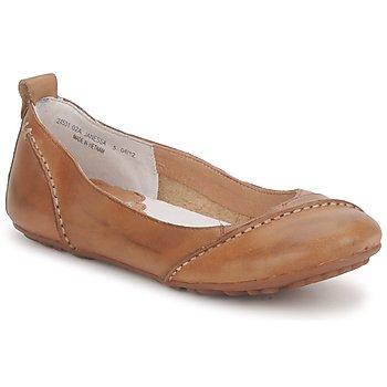 鞋子 女士 平底鞋 Hush puppies 暇步士 JANESSA 棕色