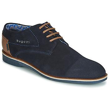 鞋子 男士 德比 Bugatti TOUZETTE 蓝色