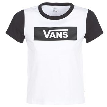 衣服 女士 短袖体恤 Vans 范斯 V TANGLE RANGE RINGER 白色