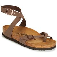 鞋子 女士 凉鞋 Birkenstock 勃肯 YARA 棕色