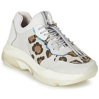 鞋子 女士 球鞋基本款 Bronx BAISLEY 白色 / Leopard