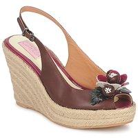 鞋子 女士 凉鞋 C.Petula GLORIA 棕色 / 紫红色