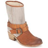 鞋子 女士 都市靴 Ikks INES 棕色 / 灰褐色
