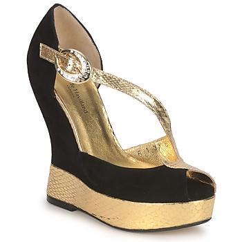 鞋子 女士 凉鞋 Terry de Havilland PENNY 黑色-金色