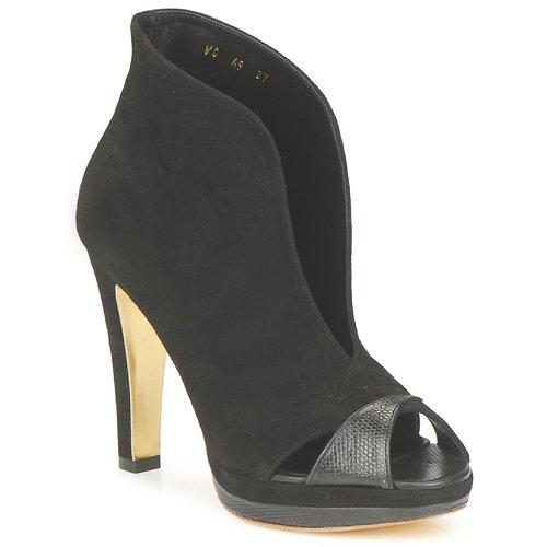 鞋子 女士 短靴 Gaspard Yurkievich 嘉斯帕·尤基韦齐 A9-VAR7 黑色
