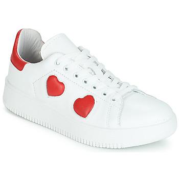 鞋子 女士 球鞋基本款 Yurban JIBOUILLE 白色