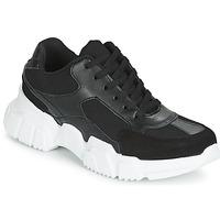 鞋子 女士 球鞋基本款 Yurban JILIBELLE 黑色 / 白色