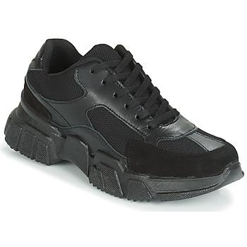 鞋子 女士 球鞋基本款 Yurban JILIBELLE 黑色
