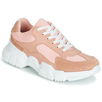 鞋子 女士 球鞋基本款 Yurban JILIBELLE 玫瑰色