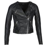 衣服 女士 皮夹克/ 人造皮革夹克 Vero Moda VMRIA FAV 黑色