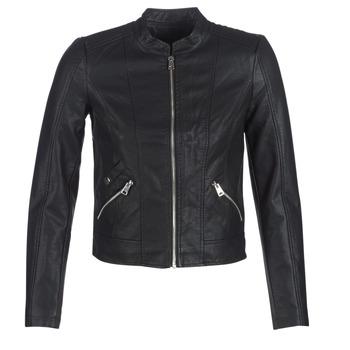 衣服 女士 皮夹克/ 人造皮革夹克 Vero Moda VMKHLOE 黑色