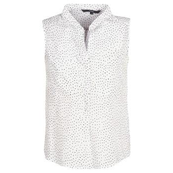衣服 女士 女士上衣/罩衫 Vero Moda VMERIKA 白色 / 黑色