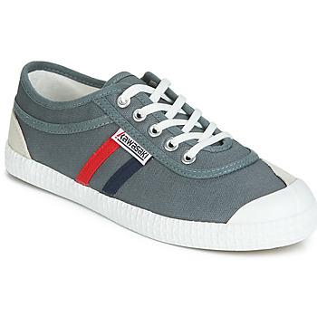 鞋子 球鞋基本款 Kawasaki 川崎凌风 RETRO 灰色