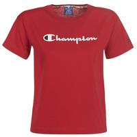 衣服 女士 短袖体恤 Champion 111393-RIR 波尔多红