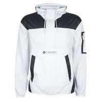 衣服 男士 冲锋衣 Columbia 哥伦比亚 CHALLENGER WINDBREAKER 白色 / 黑色