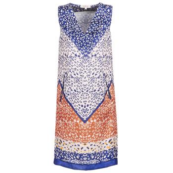 衣服 女士 短裙 Derhy FORTERESSE 白色 / 蓝色 / 橙色