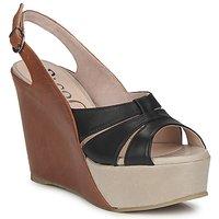鞋子 女士 凉鞋 Paco Gil RITMO SELV 驼色 / 黑色