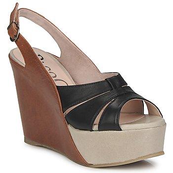 鞋子 女士 涼鞋 Paco Gil RITMO SELV 駝色 / 黑色