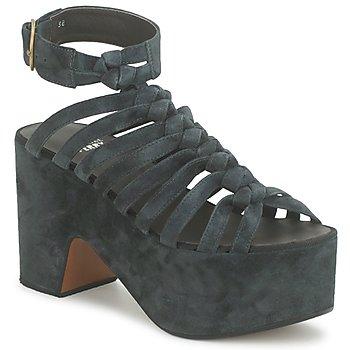 鞋子 女士 涼鞋 Michel Perry 12676 深色